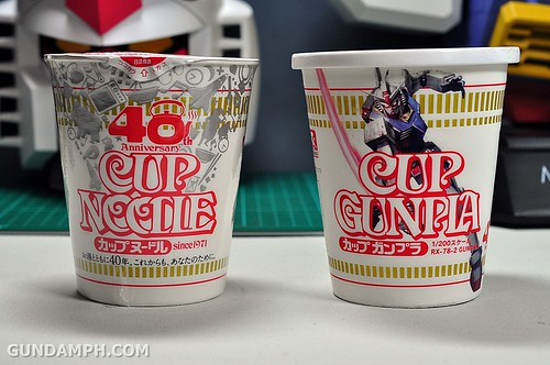 1-200 RX-78-2 Nissin Cup Gunpla 2011 OOTB Unboxing Review (7)