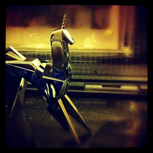 350: more human than human. #unicorn #bladerunner #doandroidsdreamofelectricsheep