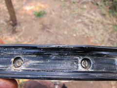 Bike Rim Repair Attempt - Hmm?
