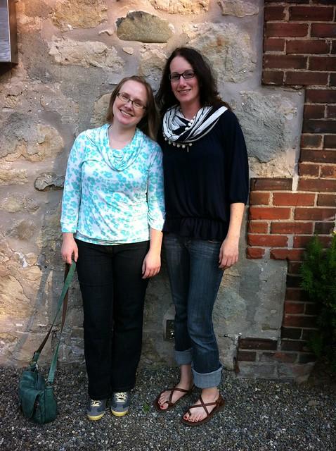 Jenn and I tall
