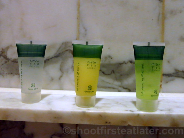 Grand Hyatt Taipei- toiletries