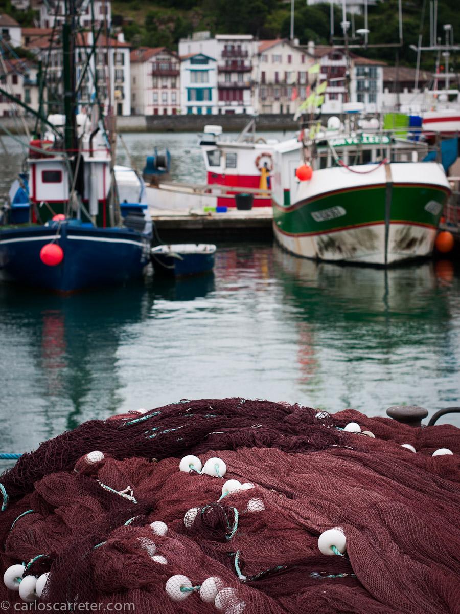 El puerto de Saint-Jean-de-Luz