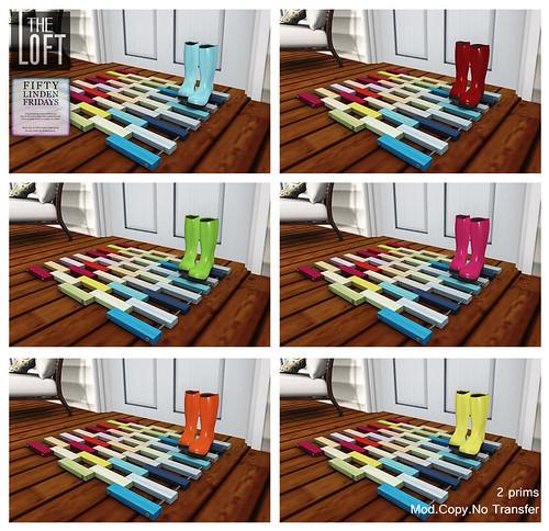 Colorblock Mat
