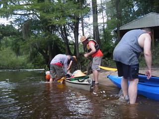 Bailing Matt's Boat