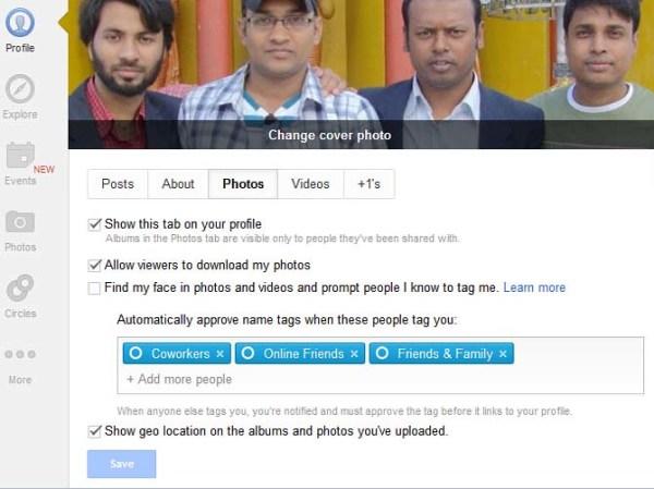 google plus tag