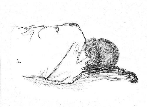 Holden Asleep