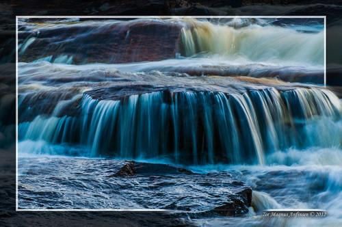 Waterfall in Jondalselva close to Kongsberg 5 by Tor Magnus Anfinsen