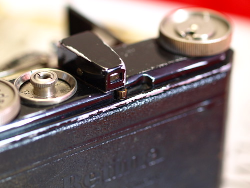 Back of Kodak Retina type 118