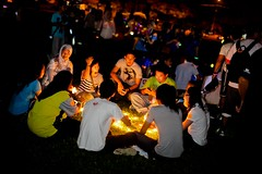 BRUNEI_BSB_Participants At Taman SOAS With The Lights Out_Riyii