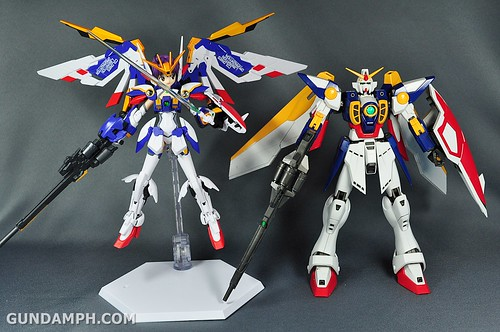 Armor Girls Project MS Girl Wing Gundam (EW Version) Review Unboxing (104)