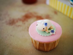 Sheep cupcake from Delectable by Su, Midvalley City, Kuala Lumpur