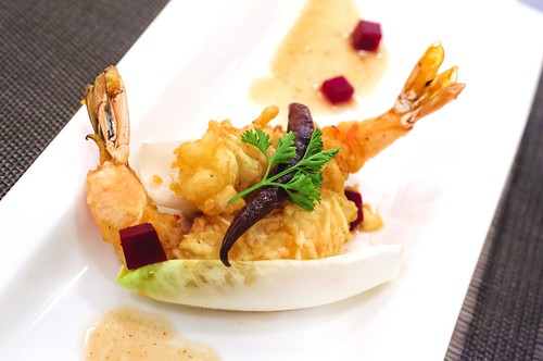 Fried Tiger Prawn
