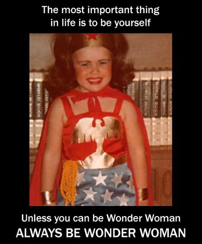 Always Be Wonder Woman