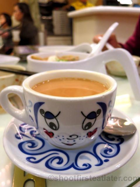 milk tea HK$16