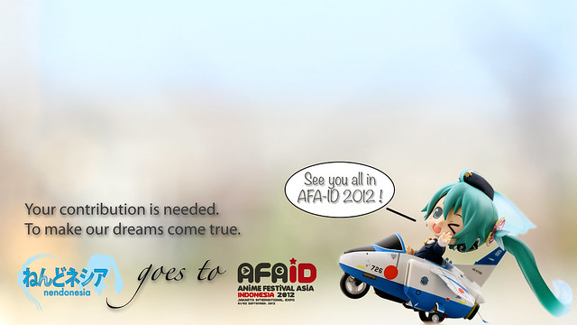 Wallpaper: Nendonesia goes to AFAID 2012