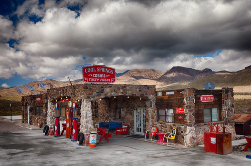 Aptly named; coolest spot on the road out of Kingman until you hit those mountains!