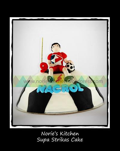 Norie's Kitchen - Supa Strikas Cake by Norie's Kitchen