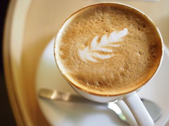 Flat White, The Naked Coffee, Telok Ayer Street