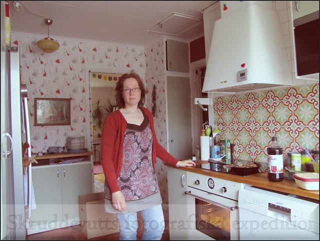 Jag i köket