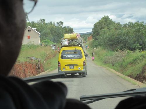 en route pour Madagascar