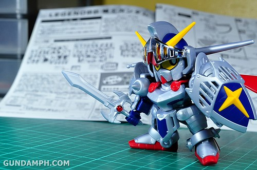 SD Legend BB Knight Gundam OOTB Unboxing Review (52)