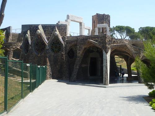 Cripta Guell, Barcellona