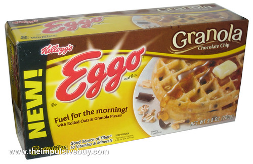 Kellogg's Eggo Granola Chocolate Chip