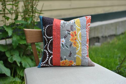 Modern Floral Pillow