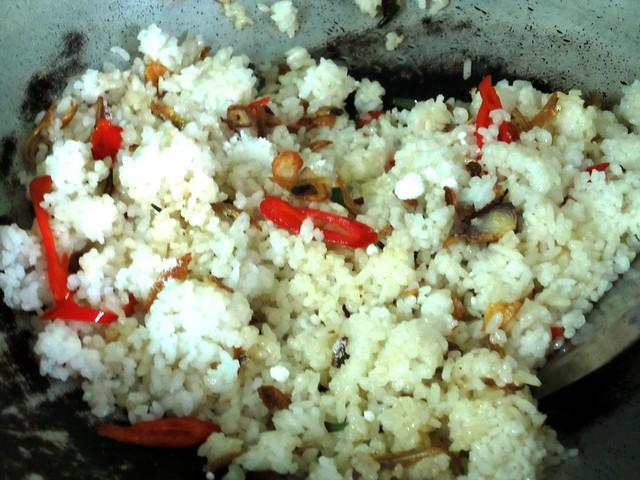 rice chili & spring onion