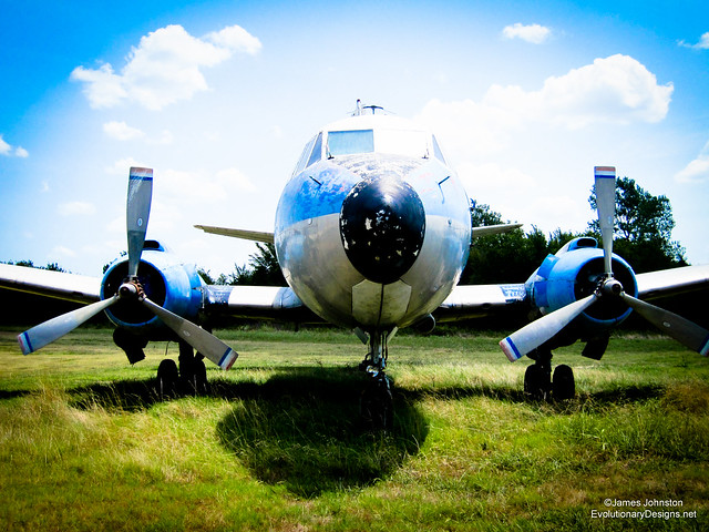 404 Martin Passenger Plane Tail Number 4255S History