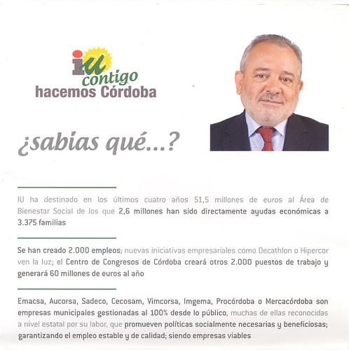 Andrés Ocaña realizando promesas de ciencia ficción, casi delirantes sobre el Palacio de Congresos.