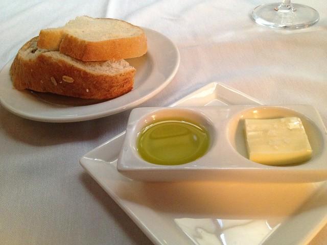 Tuscan white and multigrain breads - McCrady's Restaurant