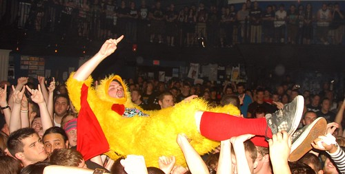 Chicken Man at the 9:30 Club