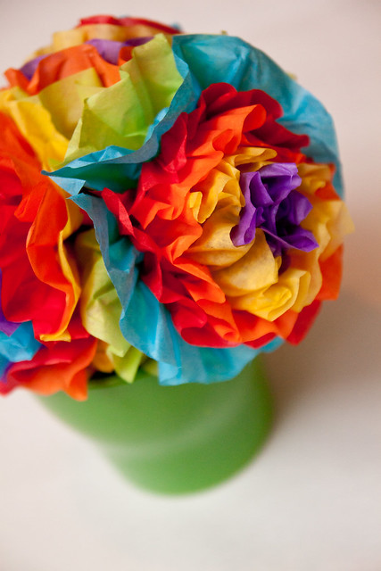 Rainbow Centerpiece