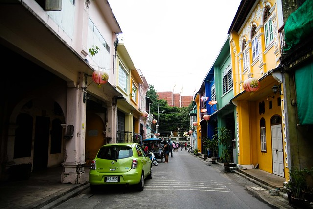 colorful phuket town
