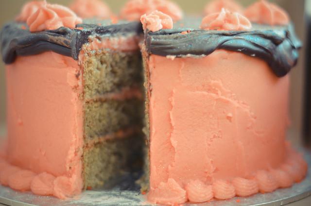 Raspberry chocolate cake incident-5