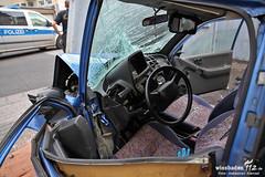 Verkehrsunfall Poststr. Bierstadt 18.07.12