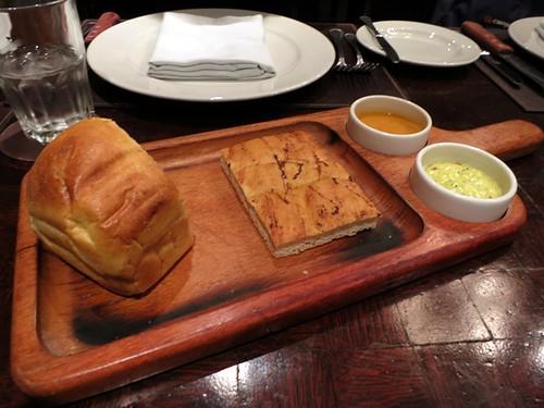 Ají amarillo bread, focaccia