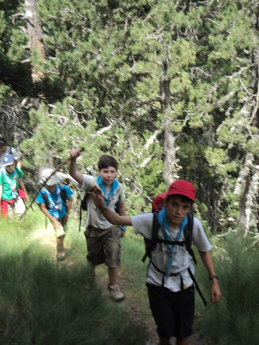 Campaments Àreu 2012 - 20 de juliol