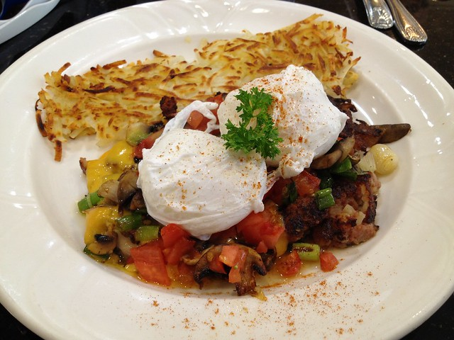 Home corned beef hash - Red Cafe