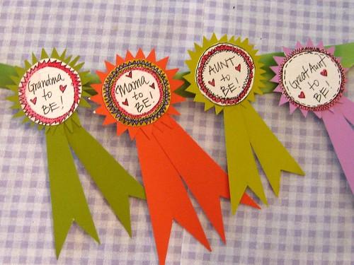 Badges for Baby Shower