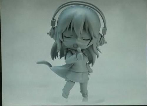 Singing pose