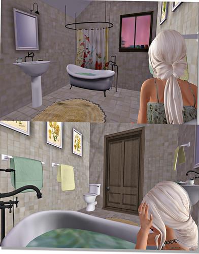 Cheeky Pea Bathroom
