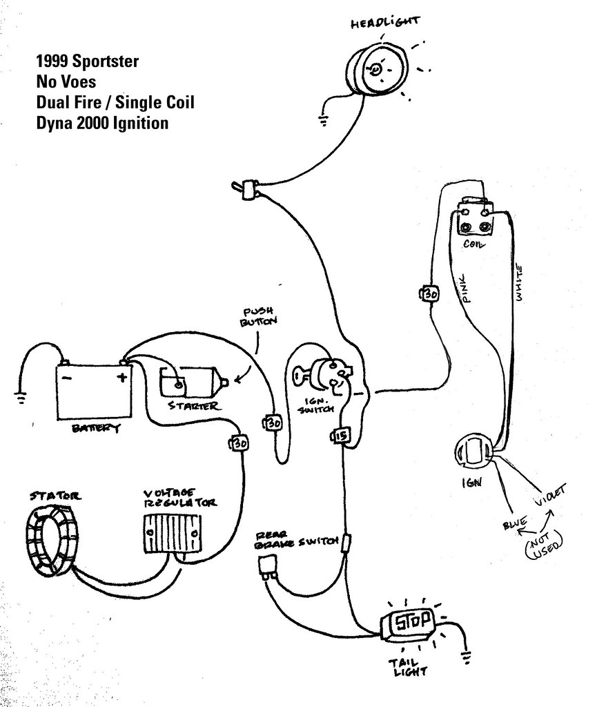 Dyna S Single Fire Ignition Wiring Diagram harley dual fire ... Harley Coil Wiring Diagram on