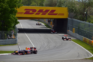 Vettel, Hamilton, Alonso and Webber