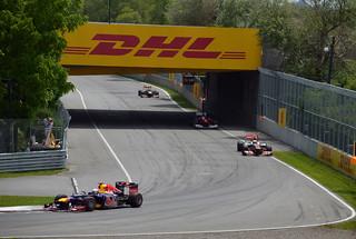 Vettel, Hamilton, Alonso and Webber