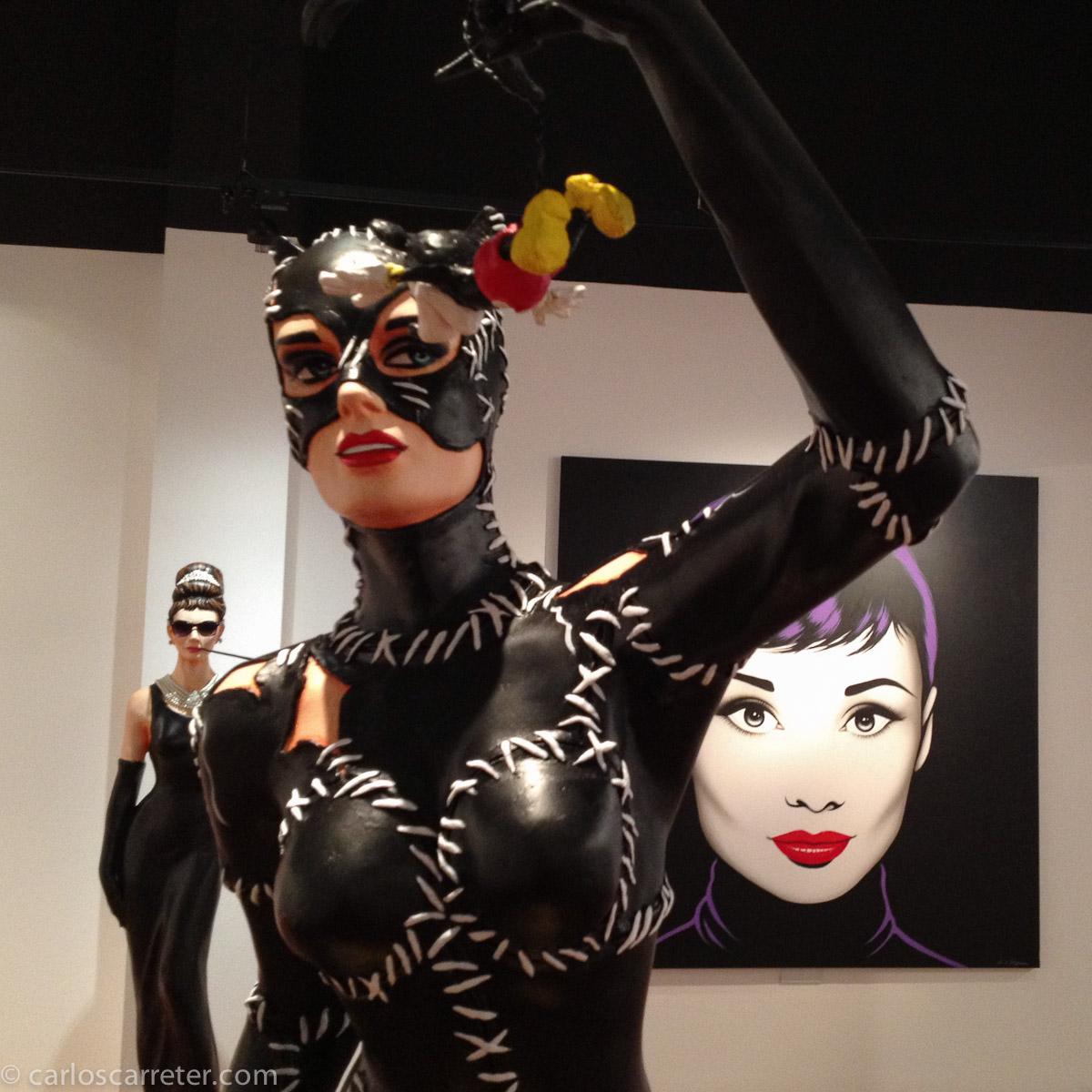 Catwoman, Mickey y Audreys