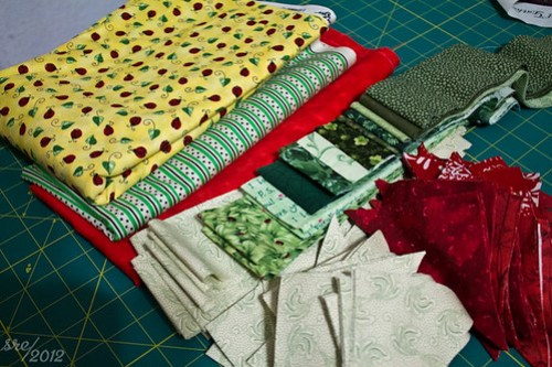 Fabric selection, part II, plus cutting