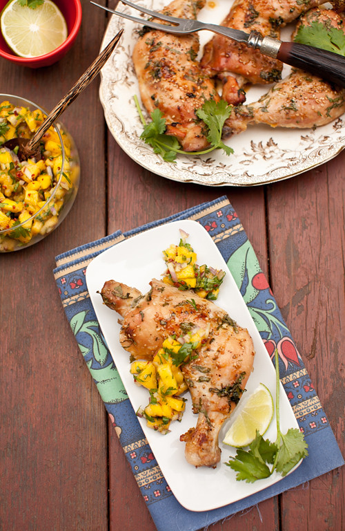 Roasted Marinated Chicken 4