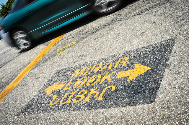 Multilingual roadsigns